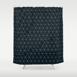 Cityscape Geo 2 Shower Curtain