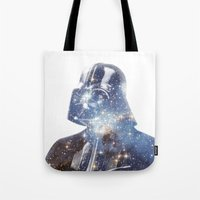 vader Tote Bags featuring Vader by O   N   E