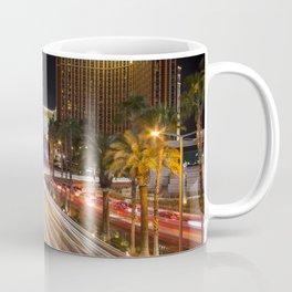 Light Trails on the strip  Coffee Mug