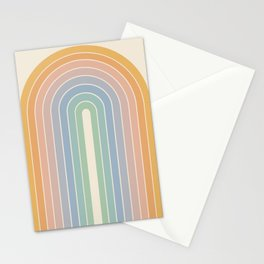 Gradient Arch - Rainbow III Stationery Cards