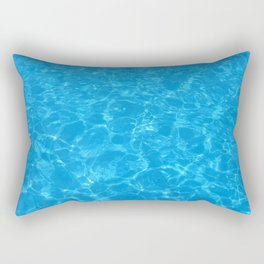 MEET ME (Swimming pool print) Rectangular Pillow