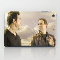 stargate iPad Cases featuring Goodbye Carson by Samy
