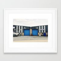 industrial Framed Art Prints featuring Industrial by TomP