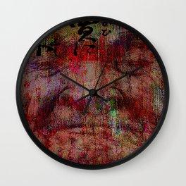 The last confrontation of miyamoto musashi Wall Clock