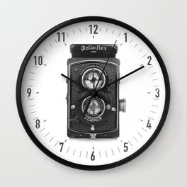 RolleiFlex Wall Clock