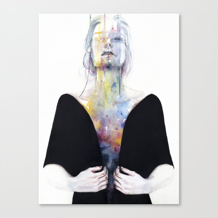 another one (inside the shell) Canvas Print