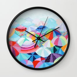 Seaside Summer Wall Clock