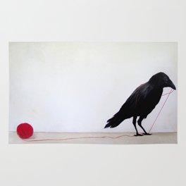 Black Raven Rug