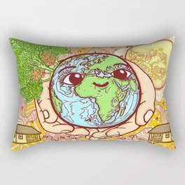 Earth is our Home! Rectangular Pillow
