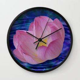 A lotus flowers dream Wall Clock