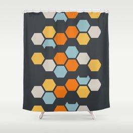 Sam (Gray Blue) Shower Curtain
