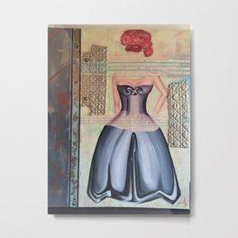 Chevy Woman Metal Print
