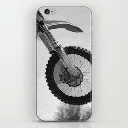Motocross Dirt-Bike Racer iPhone Skin