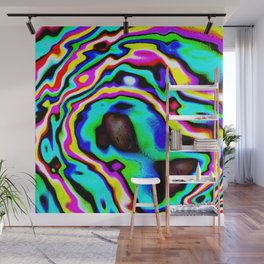 It's a Wobbly World Wall Mural