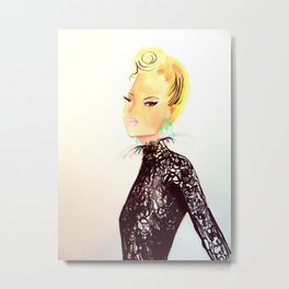 Christian Lacroix Top Metal Print