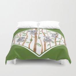 Koala Forest Duvet Cover