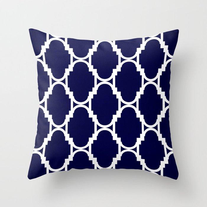 Pillow Talk Navy Throw