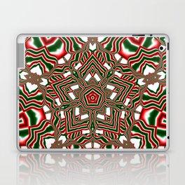 Christmas Kaleidoscope Laptop & iPad Skin