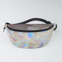 Iridescent Aura Crystals Fanny Pack
