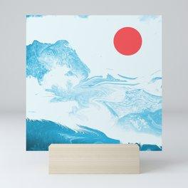 Classic Blue Mini Art Print