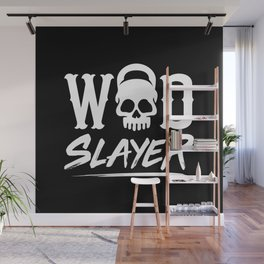 WOD Slay er Skull Wall Mural