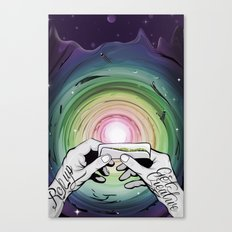 Rollup get creative Canvas Print