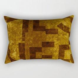 Pilsner Beer Typography Rectangular Pillow