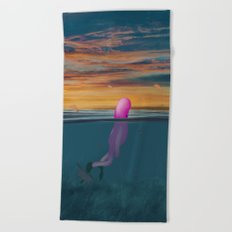 s u b b e Beach Towel