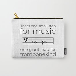 A giant leap for trombonekind Carry-All Pouch