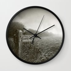 Woody Bay Wall Clock