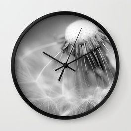 Dandelion Whispers Wall Clock