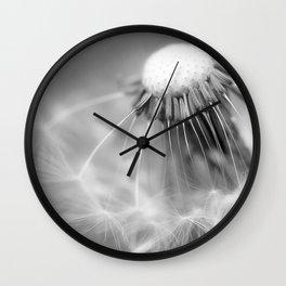 Dandelion Whispers Wall Clock