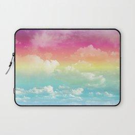 Clouds in a Rainbow Unicorn Sky Laptop Sleeve