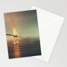 Bridge in Fog Stationery Cards