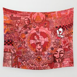 """The roots and fruitation of an unjust society"" Wall Tapestry"