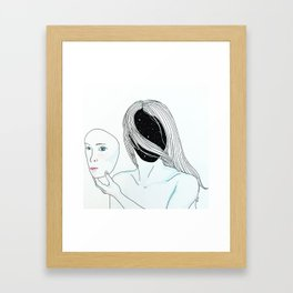 They Stumble Blindly Framed Art Print