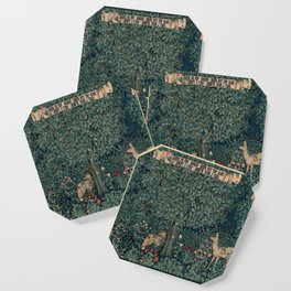 William Morris Greenery Tapestry Coaster
