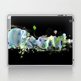 Oxygen CO2 Laptop & iPad Skin