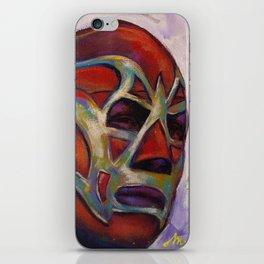 Fishman, a Mexican Luchador iPhone Skin