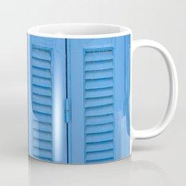 The Blue Window, Milos Coffee Mug