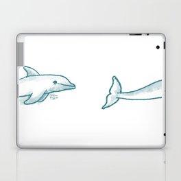 Dolphine Love Laptop & iPad Skin