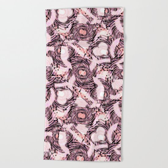 Abstract pattern.1 Beach Towel
