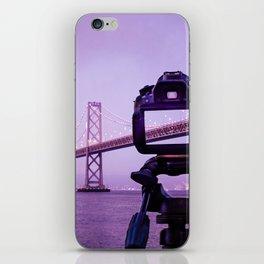 Bay Bridge Capture iPhone Skin
