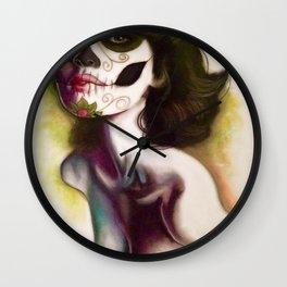 Not darker than black Wall Clock
