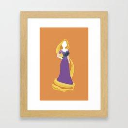 Princess Rapunzel Framed Art Print