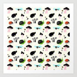 All Over Small Nature Art Print