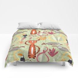 Rain forest animals 004 Comforters