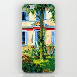 Edouard Manet House in Rueil iPhone Skin