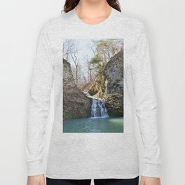Alone in Secret Hollow with the Caves, Cascades, and Critters, No. 1 of 21 Long Sleeve T-shirt