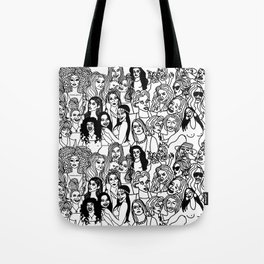 Real Housewives Pt.1 and 2 combined Tote Bag